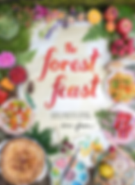 the forest feast, food books, plants and books, book club review, garden book