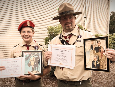 Troop 12 Leaders Earn Top Honors