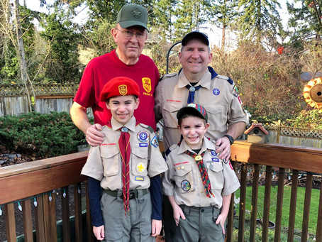 Troop 12 Scouting- It's a Family Affair
