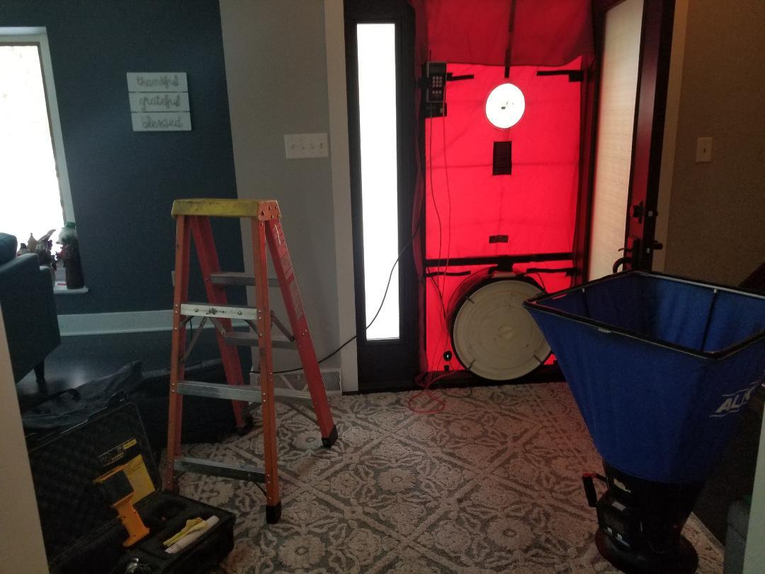 Maier-blower door setup