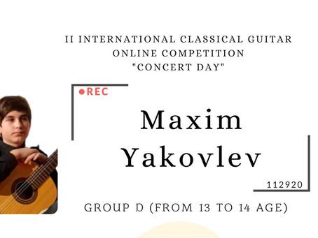 MAXIM YAKOVLEV