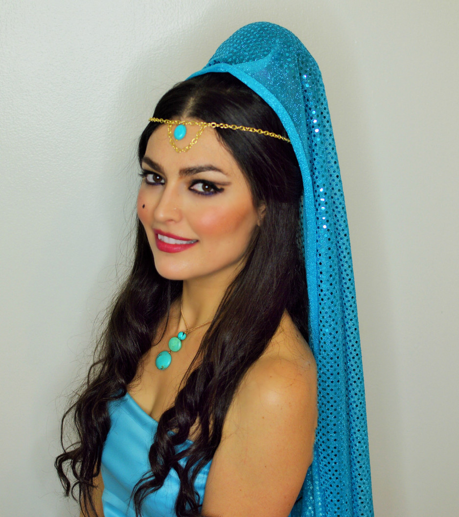 Princess Jasmine Hallooween look