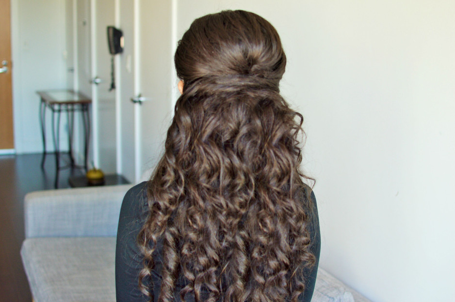 Princess Hairstyle   Classy Chic Party Hairstyle