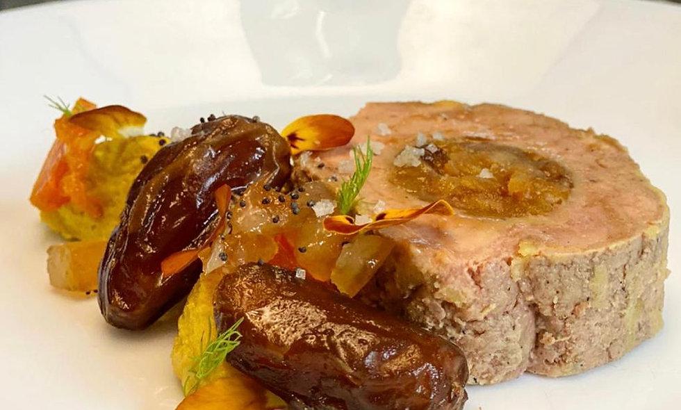 Foie gras fruit sec