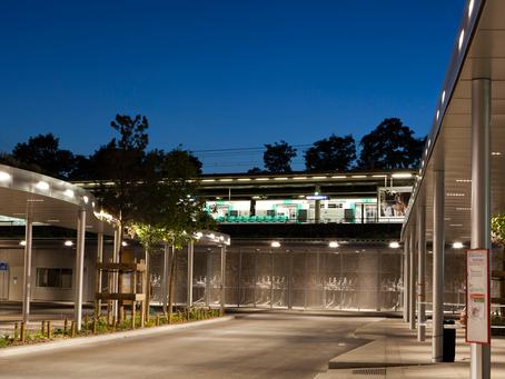 Mobipôle - Rueil-Malmaison: faciliter l'intermodalité dans un espace urbain