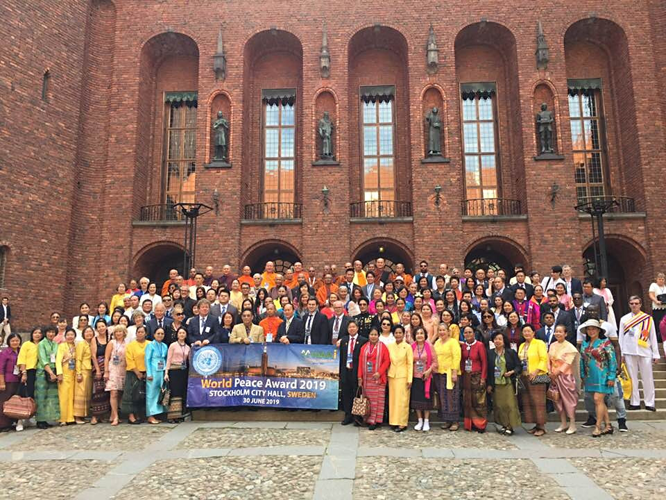 World Peace Conference 2019 Sweden