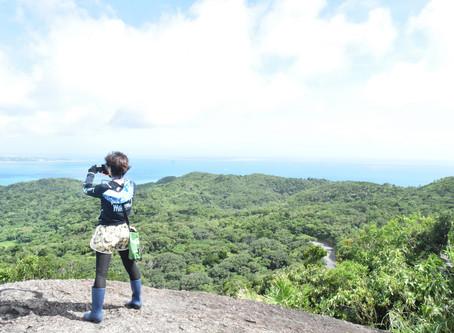 7月12日。台風一過、見渡す八重山の島々