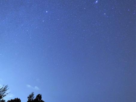 3月14日。母に見せたい!石垣島の星空
