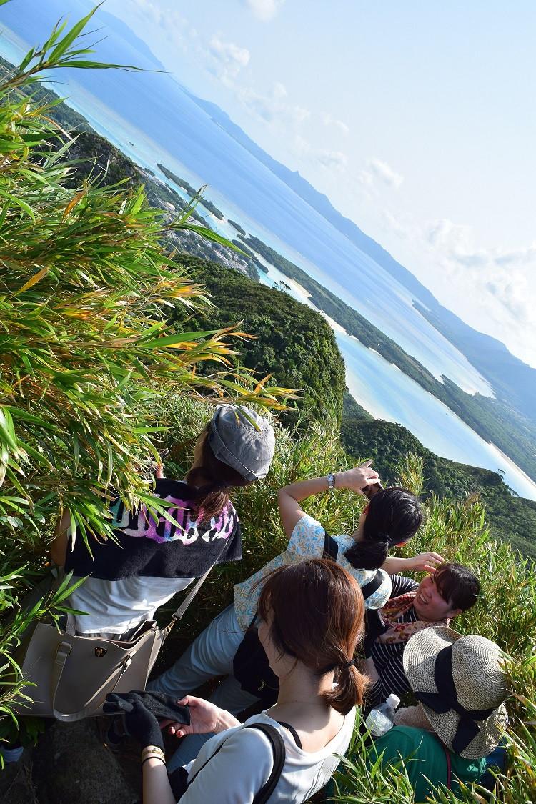 石垣島前嵩山頂