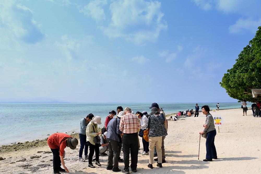 竹富島 星砂の浜