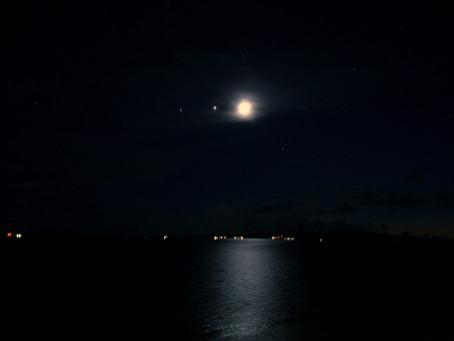 2018年1月31日 石垣島で皆既月食を見よう