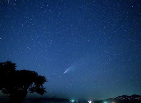 7月20日。ネオワイズ彗星