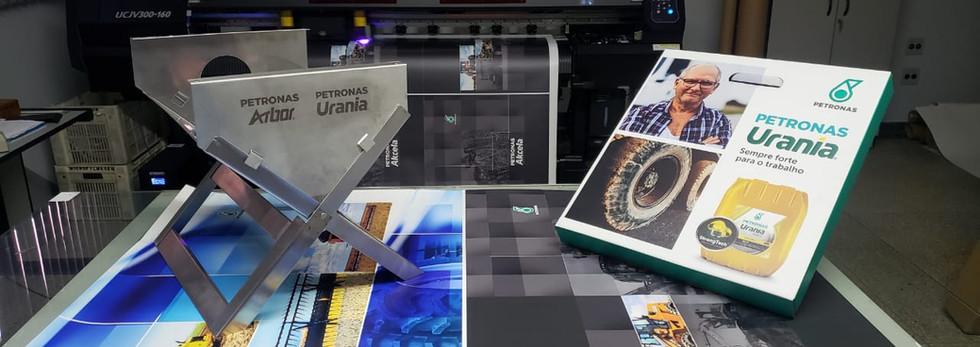 Impressão em caixa papelão