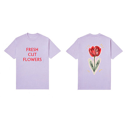 Fresh Cut Flowers Tee