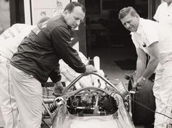 A.J. and Tony Foyt