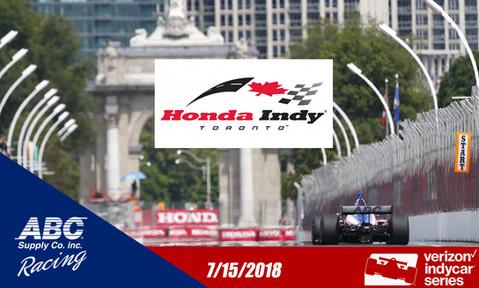 Streets of Toronto 2018 AJ Foyt Racing