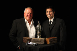 A.J. and Larry Foyt