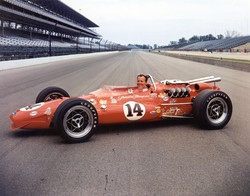 A.J. in his 1967 Coyote/Ford