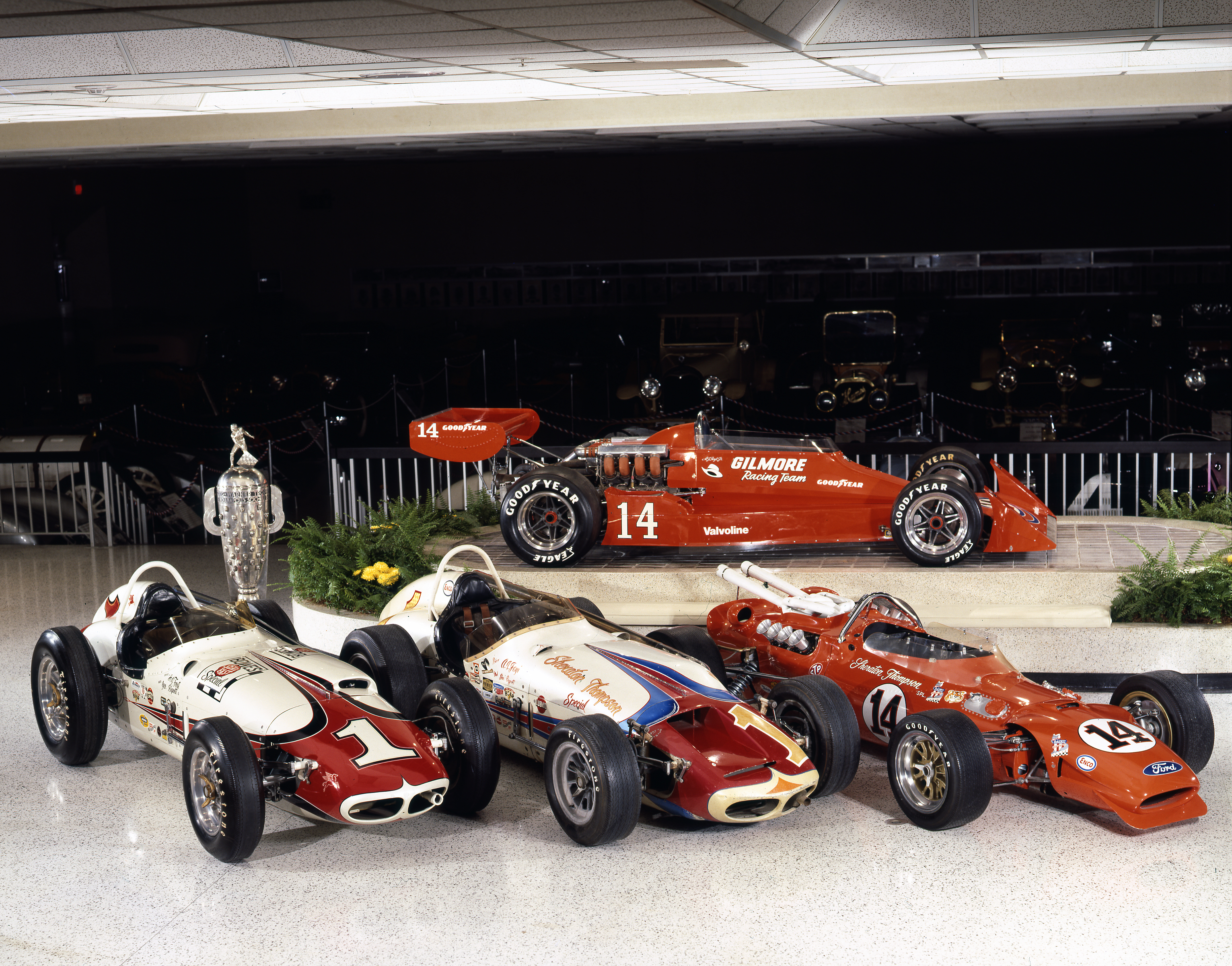 A.J. Foyt's Indy 500-winning cars