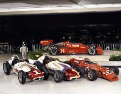 A.J. Foyt's Indy 500-winning cars