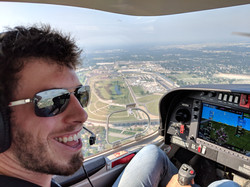 2018 Flying past IMS