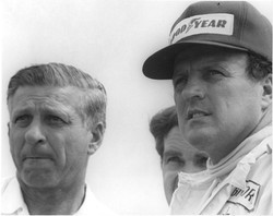 Tony Foyt and son A.J.