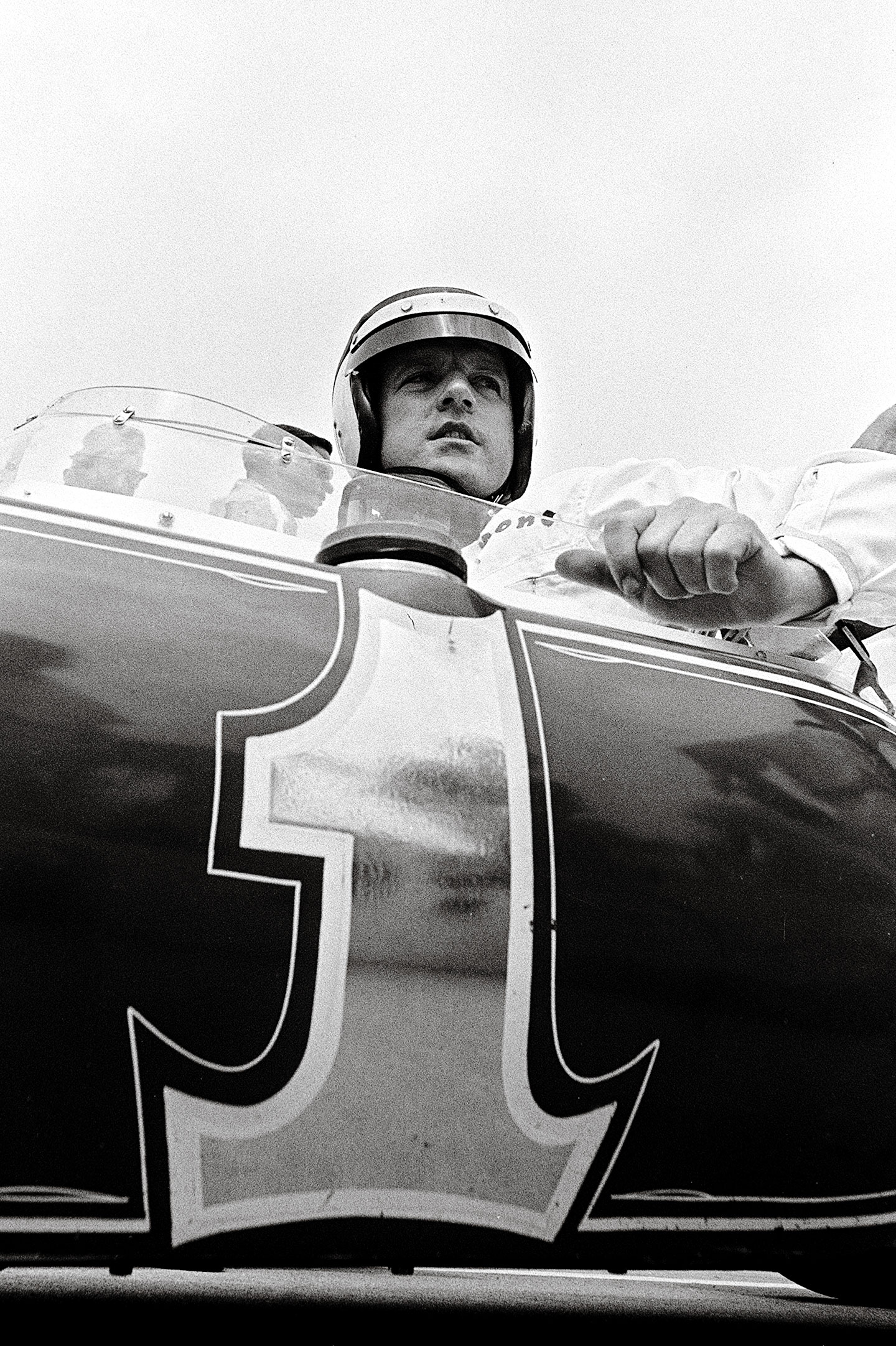 A.J. in the #1 Lotus/Ford in 1965