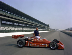A.J. the day after his 1977 win