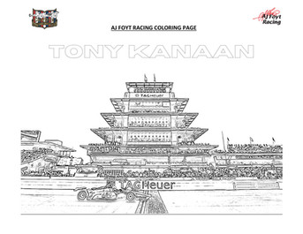AJFR COLORING PAGES_TK INDY 500