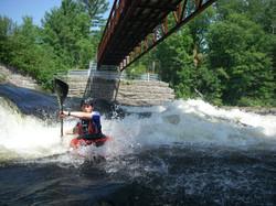 White-Water Kayaking