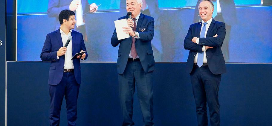 Loic Vuichard, Vincent Rouaix et Frederic Simottel