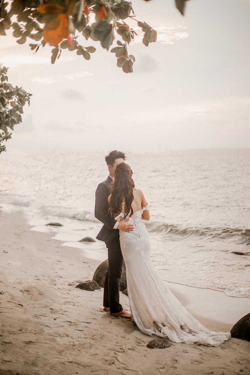 Beach wedding photgraphy