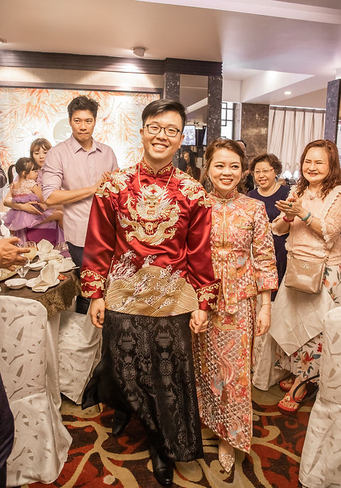 Singapore Chinese wedding
