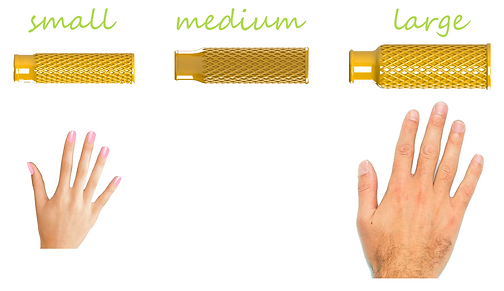Велосипедные ручки под размер руки. 3dGrips - велоручки любых размеров: большой, средний, малый. 3d печать и изготовление велоручек на заказ