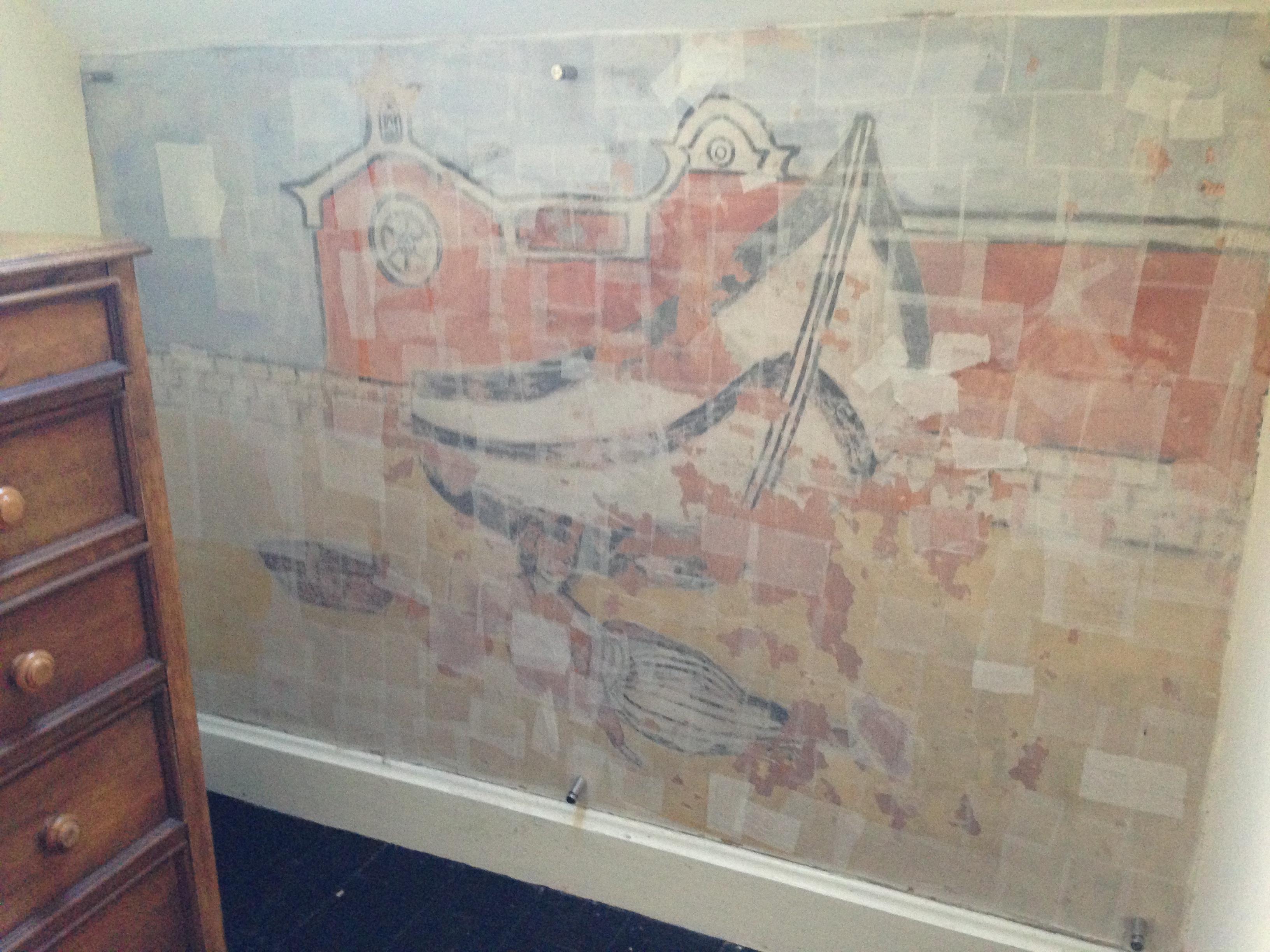 murlun / mural - Brenda Chamberlain