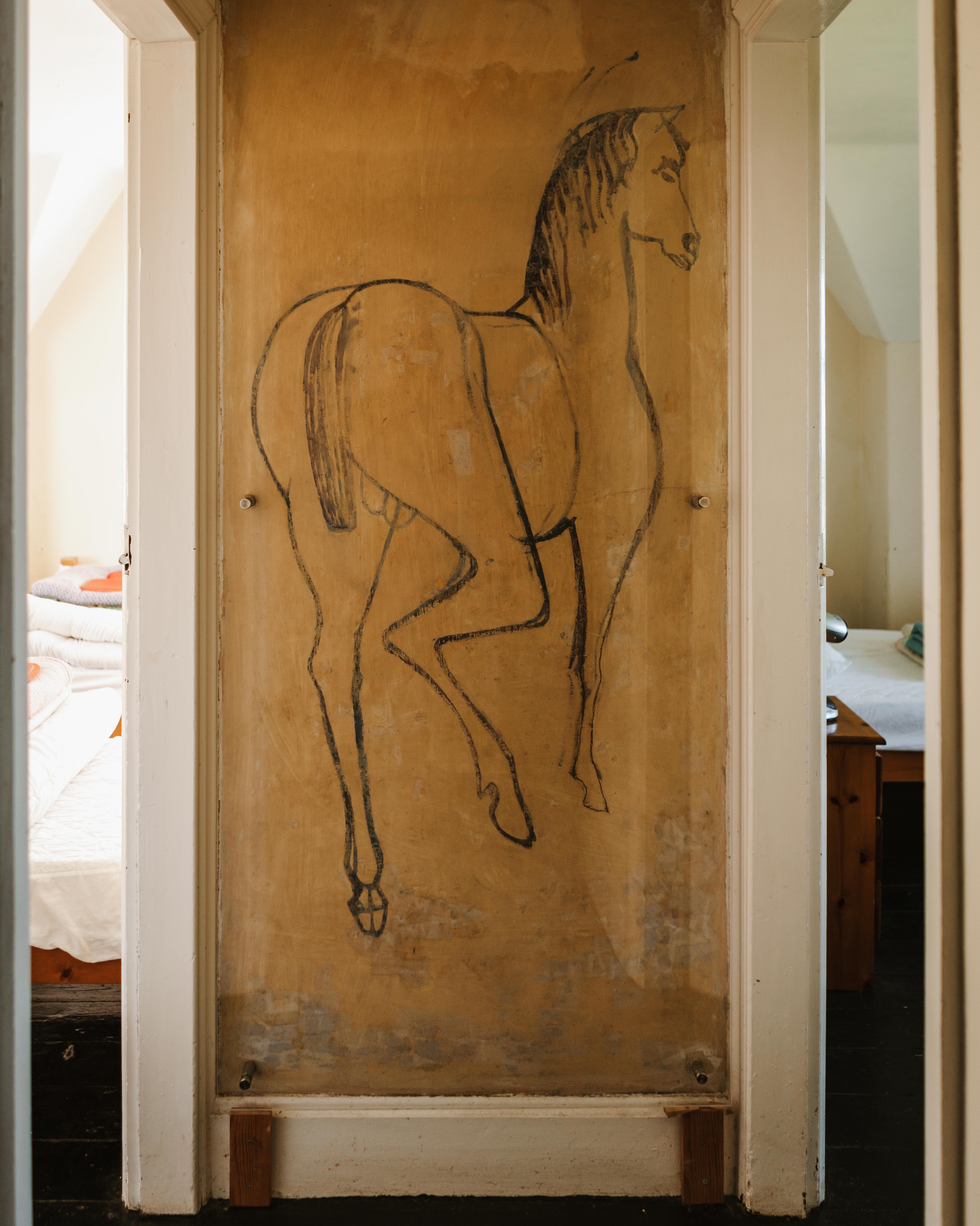 carreg fawr horse
