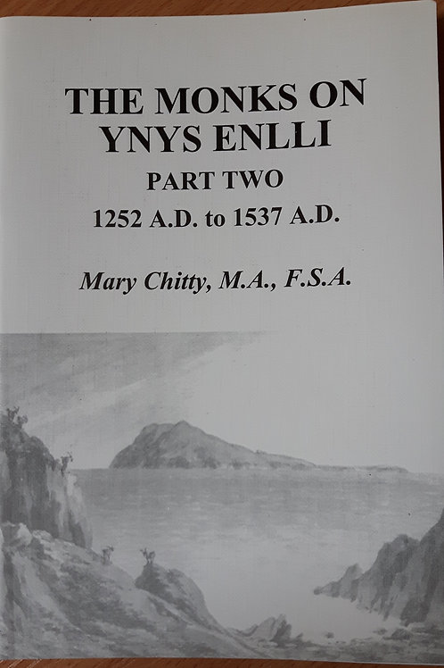 The Monks on Ynys Enlli. Part Two