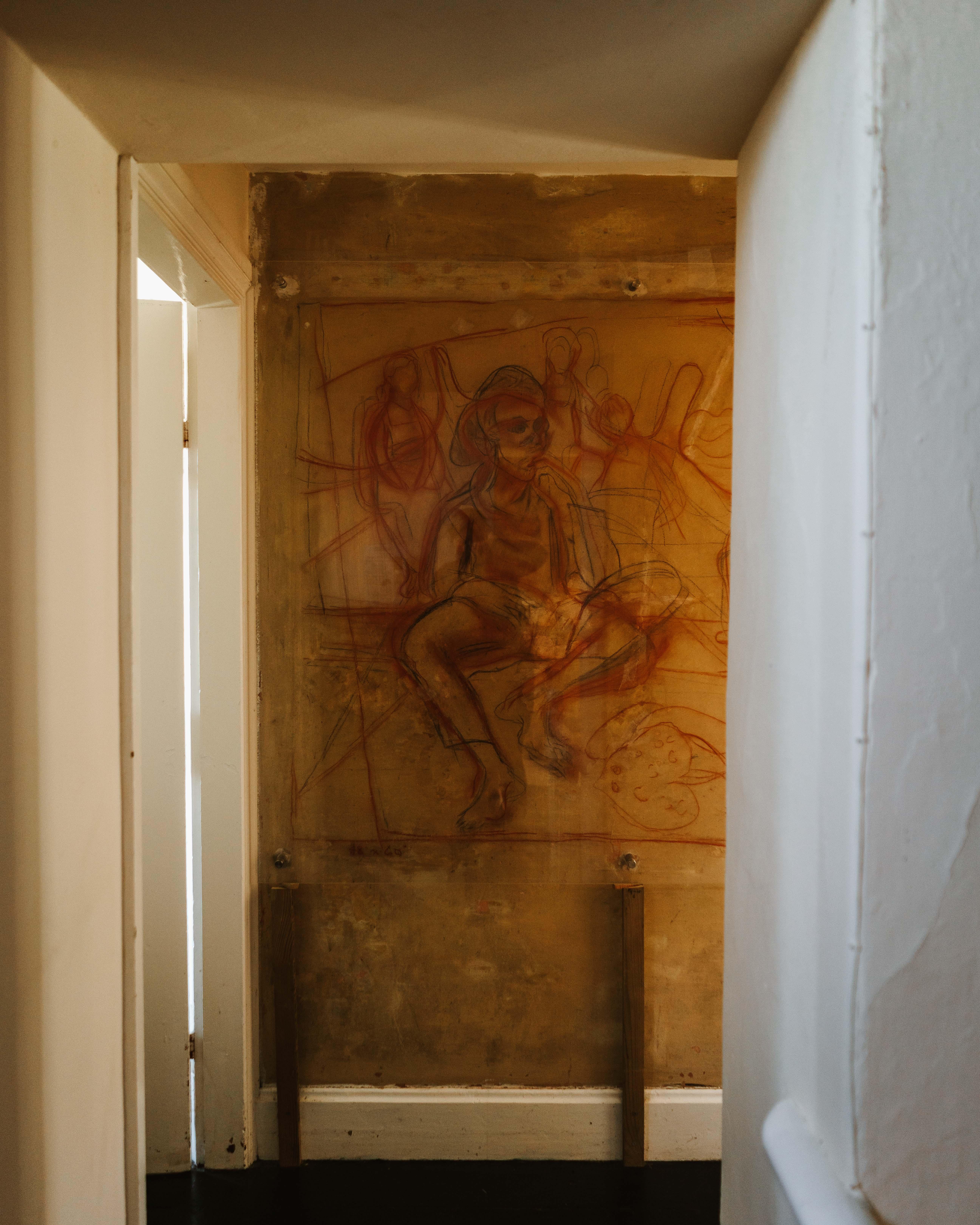 carreg mural isherman