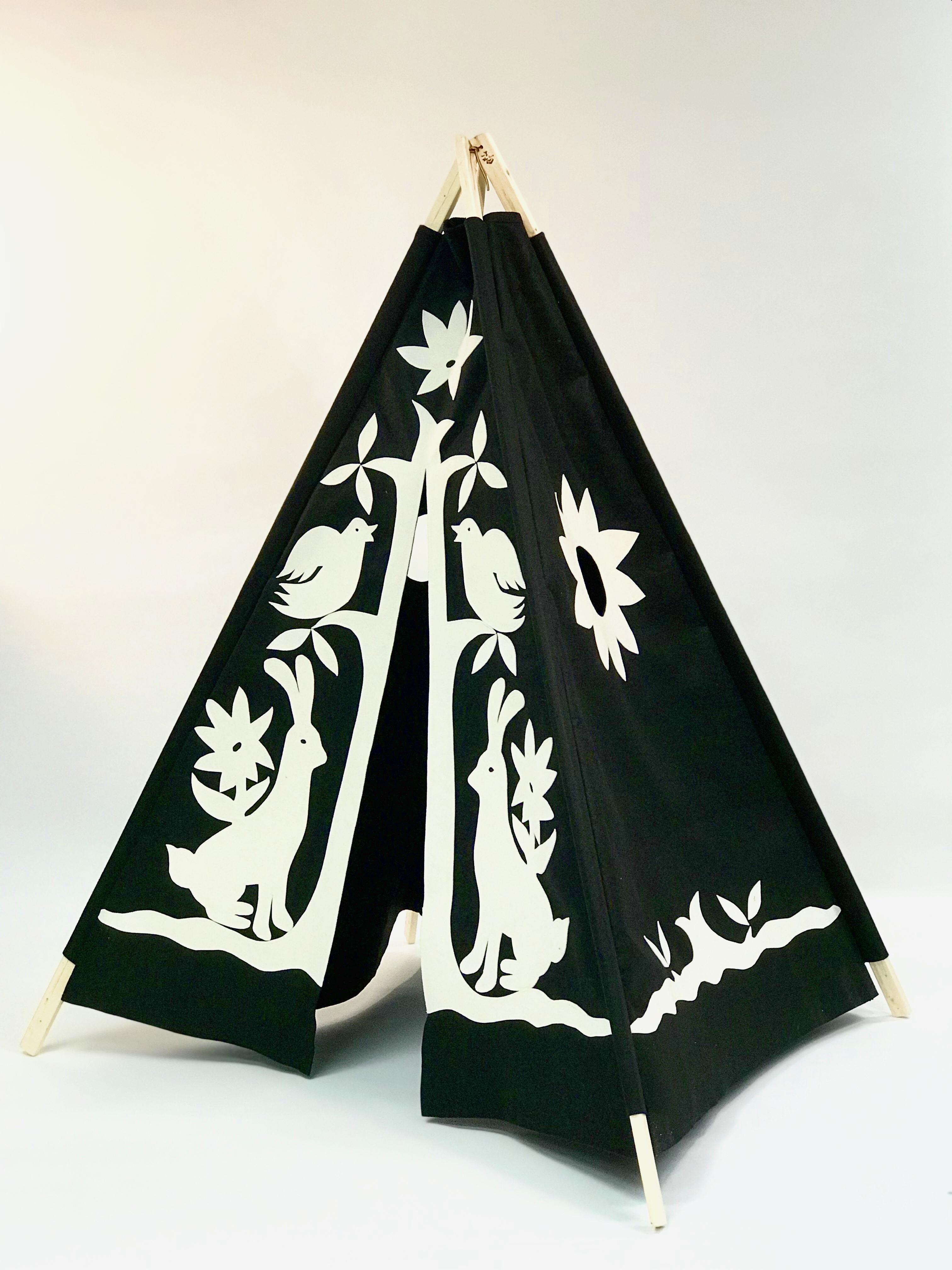 Black Otomi Teepee $189