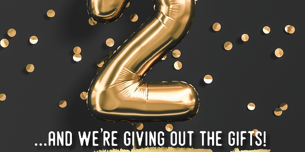It's our Birthday! Celebrate with us!