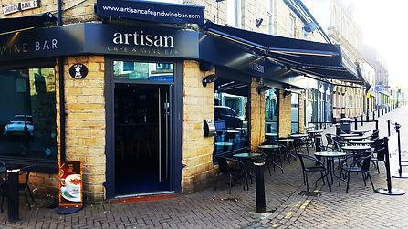 Artisan Cafe and Wine Bar, Darwen Lancashire