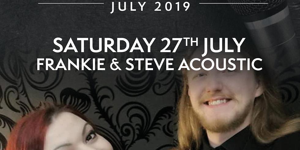Frankie & Steve Acoustic Live