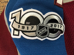 2017-2018Comeau14100 Year Patch