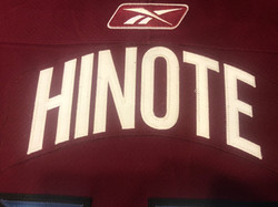 2005-2006Hinote13Name Plate