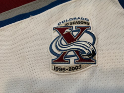 2005-2006Tanguay1810th Anniversary Patch