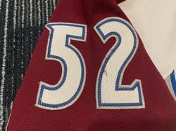 2009-2010Foote52Left Arm Numbers