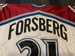 1999-2000Forsberg21Name Plate