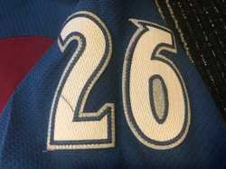 2009-2010Stastny26Right Arm Numbers