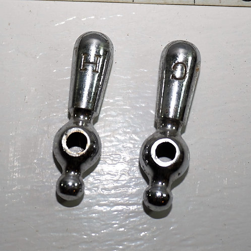 Set Of Hot And Cold Faucet Handles