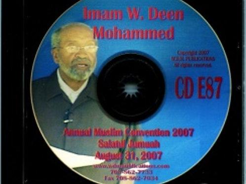 2007 Muslim Convention Jumuah